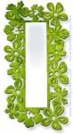 Espejo de pared con flores de forja CE-39