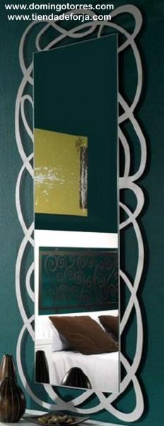Espejo de pared de forja moderna CE-58