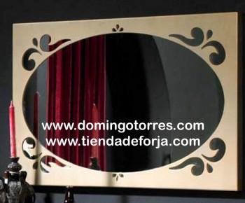 Espejo de forja horizontal y vertical CE-59