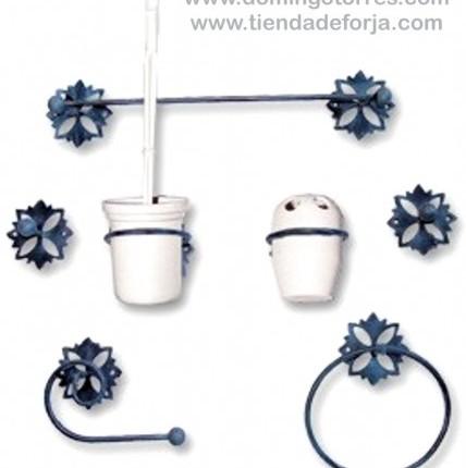 Artículos para aseos y baños de forja artística BÑ-10