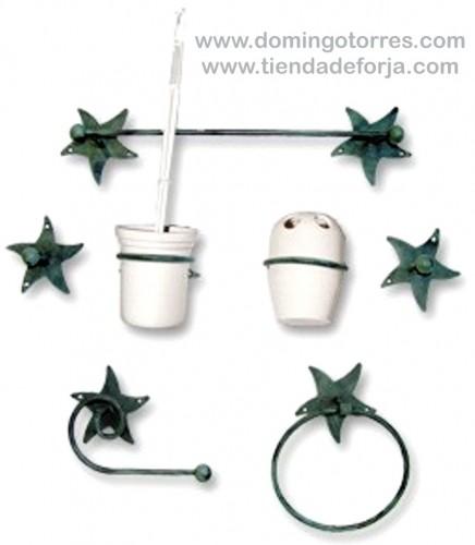 Artículos de hierro forjado para aseos y baños BÑ-11