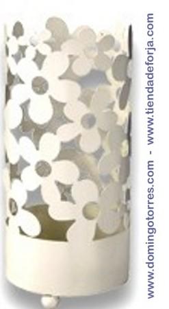 Paragüero de forja con flores mod. Valladolid PAG-14