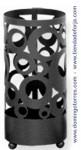 Paragüero de forja con círculos mod. Vizcaya PAG-15