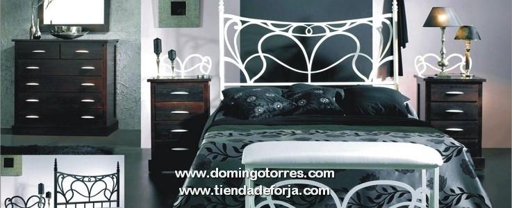 Actualidad – amueblar dormitorio moderno, cabecero forja blanca ...