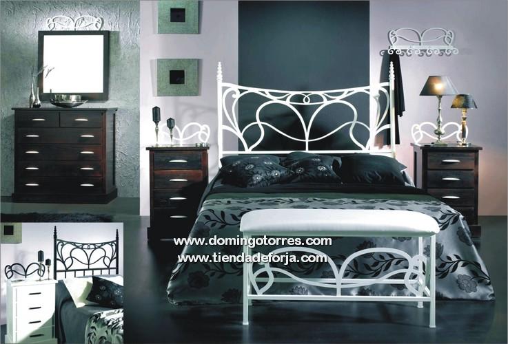 Cabeceros y camas de forja modernos r sticos infantiles - Habitaciones de forja ...