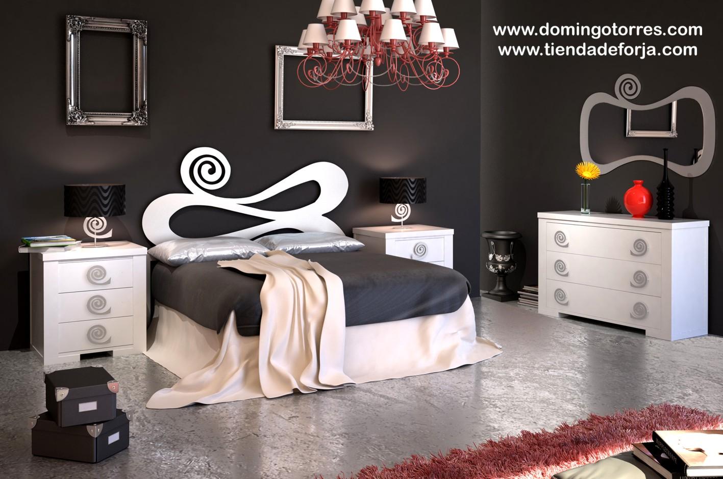 cama y cabecero original de forja c