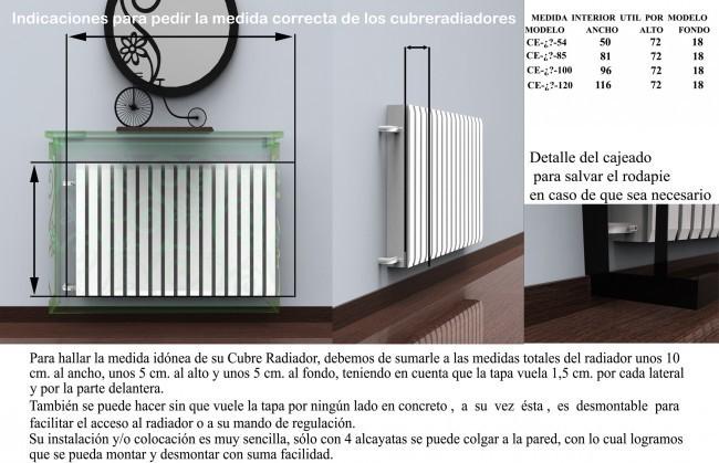 Cubreradiador barato de forja moderna ce 88 venecia - Cubreradiadores de forja ...