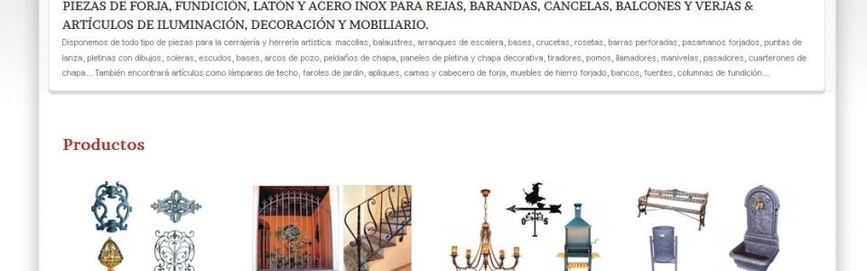 Blog dedicado al mundo de la cerrajer a art stica y la - Forja domingo torres ...