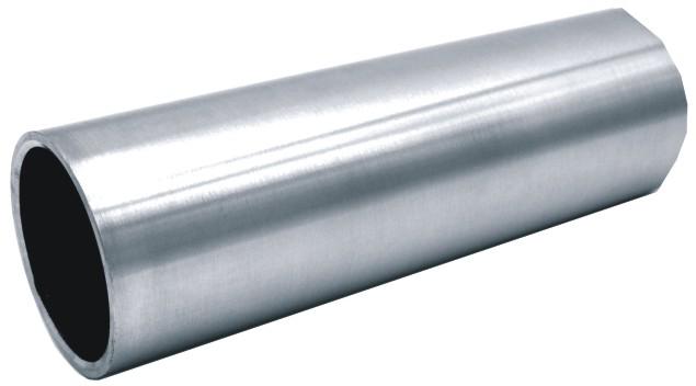 Tubo redondo de acero inoxidable satinado 350-INOX