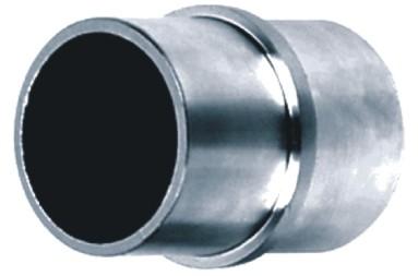 620-INOX Empalme conector de tubos redondos de inoxidable