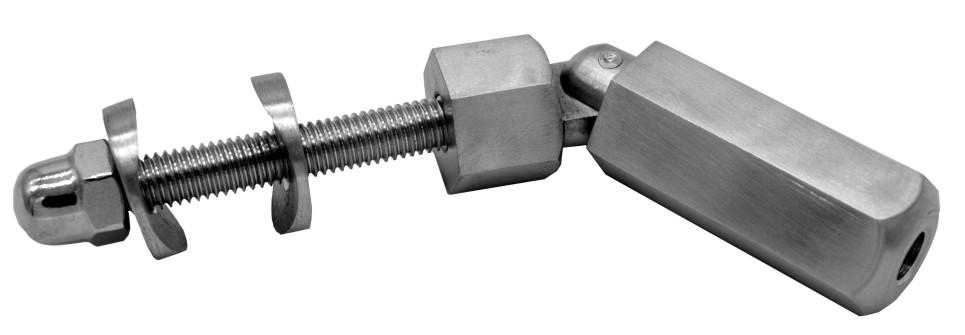 795-INOX Tensor con rosca para cable inox regulable
