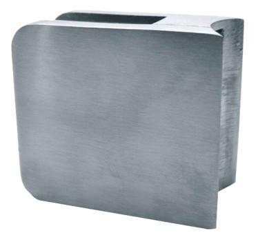 877-INOX Pinza para vidrio y cristal en acero inox AISI316