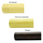 980-INOX Pasamanos de madera para barandillas de inox